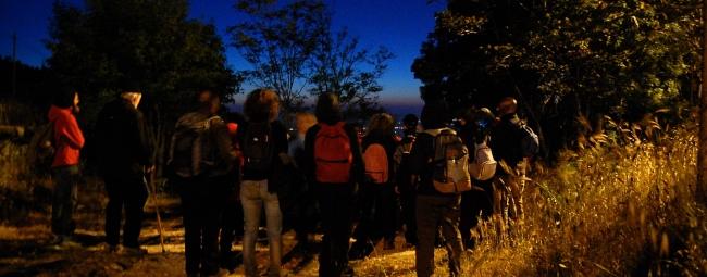 kalura  trekking notturno iblei