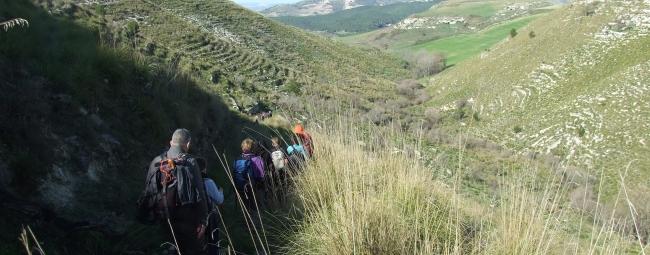 poggio dei santi kalura trekking iblei