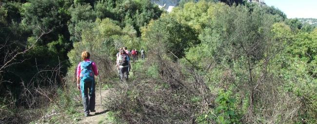 valle dell'anapo kalura trekking