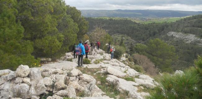 cava volpe kalura trekking sicilia