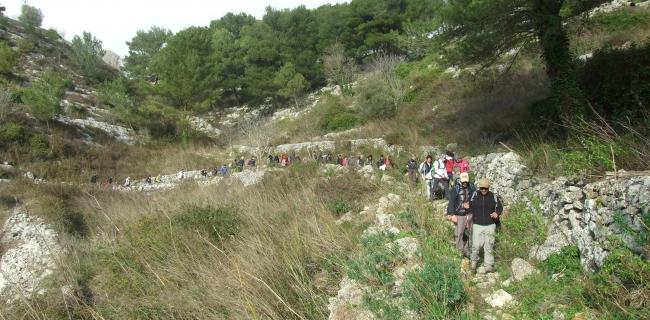 anello delle 3 cave kalura Ragusa iblei