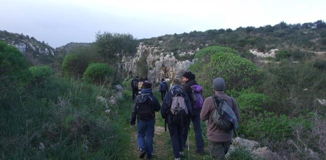 cava s.anna necropoli del cassibile kalura trekking sicilia