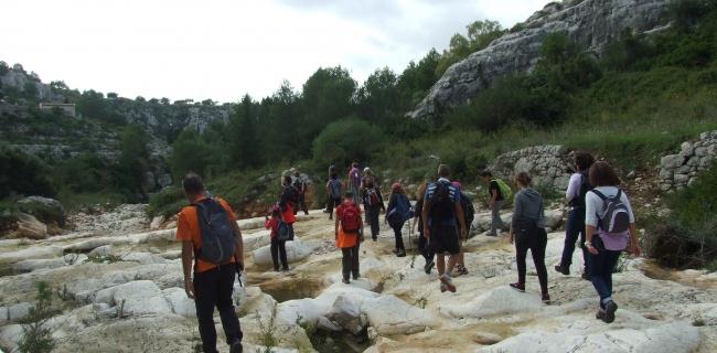 cava santa maria la nova kalura trekking iblei scicli