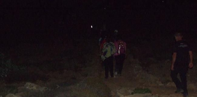 kalura iblei trekking notturno